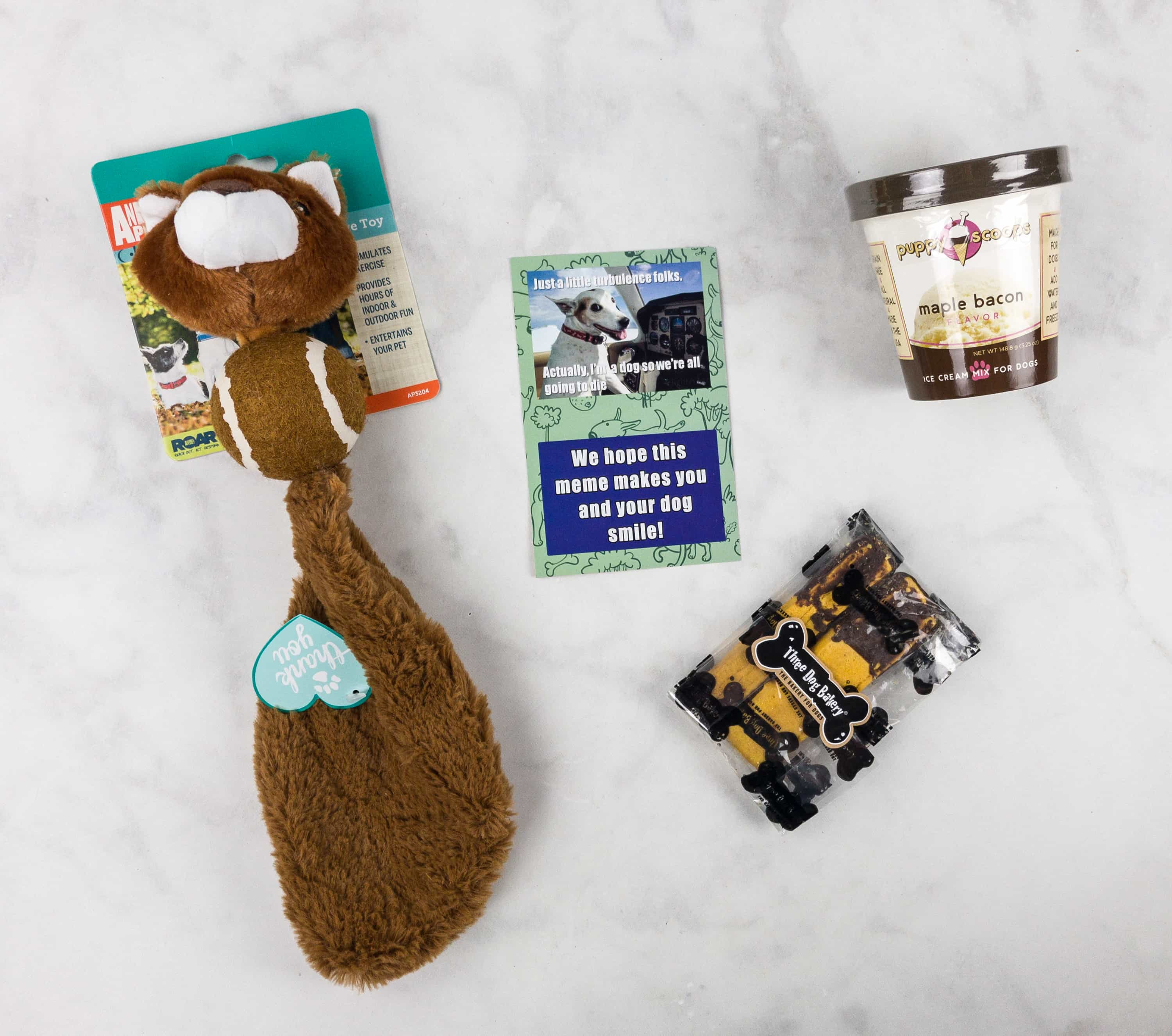 Mini Monthly Mystery Box for Dogs August 2017 Subscription Box Review - hello subscription & Mini Monthly Mystery Box for Dogs August 2017 Subscription Box ... Aboutintivar.Com