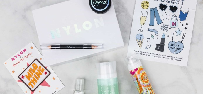 NYLON BOX August 2017 Subscription Box Review + Coupon