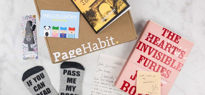 PageHabit August 2017 Subscription Box Review + Coupon – Historical Fiction