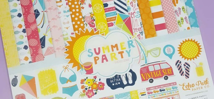 Scrapbooking Store July 2017 Subscription Box Review
