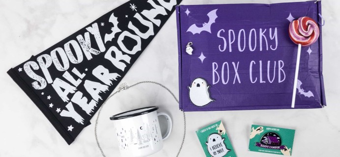 Spooky Box Club August 2017 Subscription Box Review – Campfire Ghosts