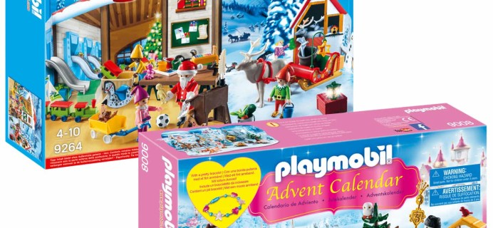Playmobil 2017 Advent Calendars Available Now!