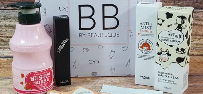 Beauteque Beauty Box Subscription Review + Coupon – August 2017