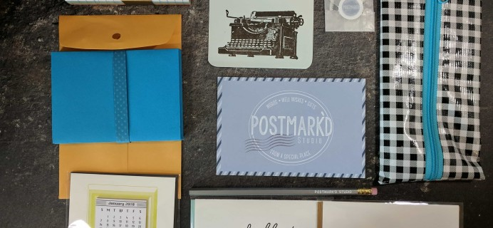 PostBox Subscription Box Review + Coupon – September 2017