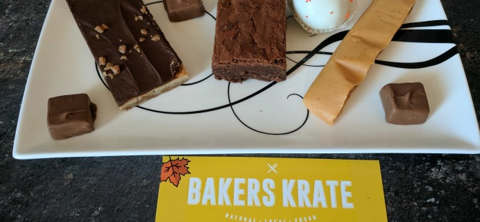 Bakers Krate September 2017 Subscription Box Review + Coupon!