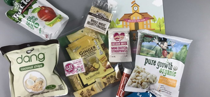 Love With Food August 2017 Tasting Box Review + Coupon!