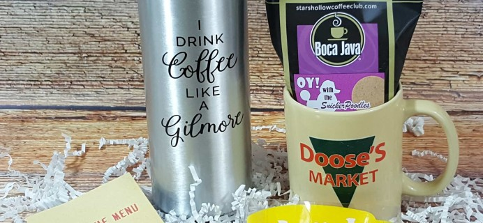 Stars Hollow Monthly Subscription Box Review – August 2017