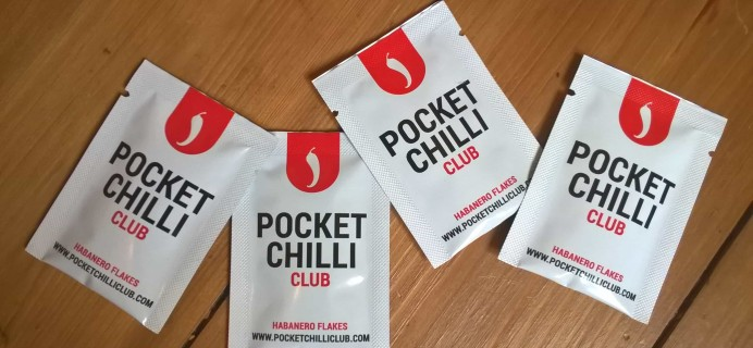 Pocket Chilli Club September 2017 Subscription Box Review + Coupon
