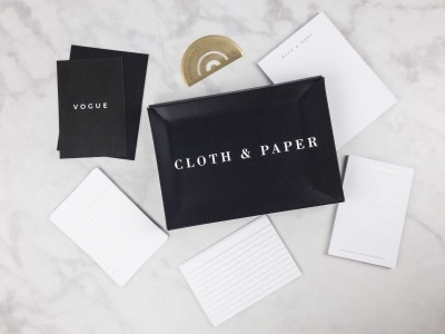 CLOTH & PAPER September 2017 Stationery Box Review + Coupon!