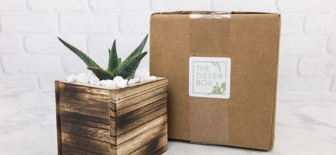 The Desert Box September 2017 Subscription Box Review