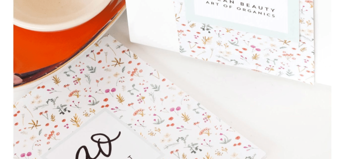 The Clean Beauty Box by Art of Organics September 2017 Full Spoilers + Coupon!