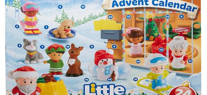 Little People Advent Calendar PRICE DROP to $15.50 – TODAY ONLY!