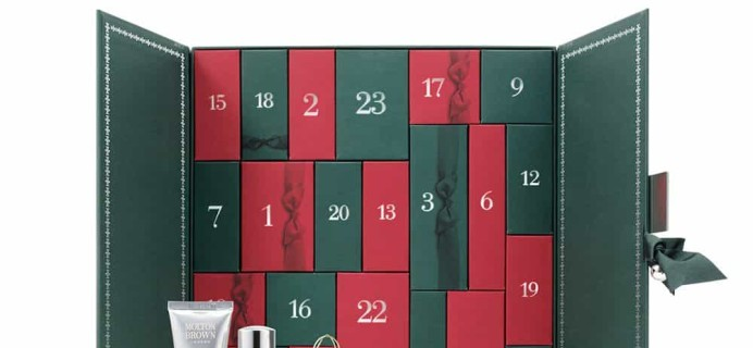 Molton Brown Scented Luxuries Advent Calendar 2017 Available Now!