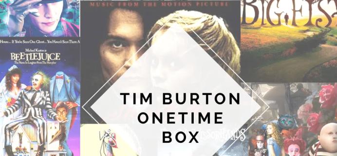 The Bookish Box: Tim Burton Limited Edition Box AvailableNow
