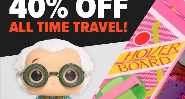 Loot Vault Sale: 40% Off Time Travel Merch!
