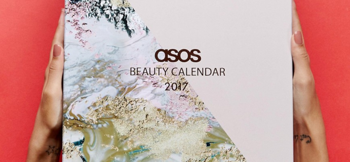 ASOS 2017 Beauty Advent Calendars Available Now!