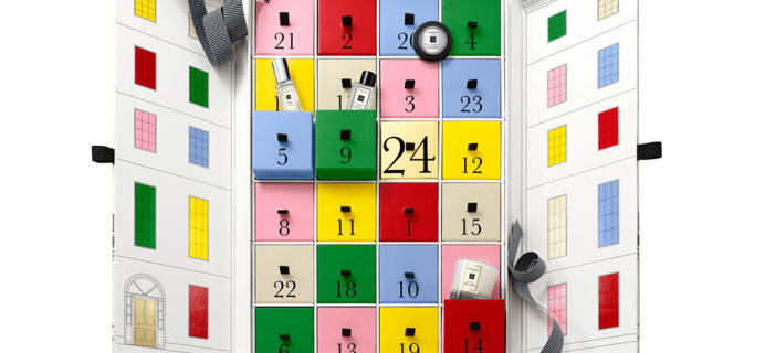 Jo Malone Beauty Advent Calendar 2017 Available Now + Full Spoilers!