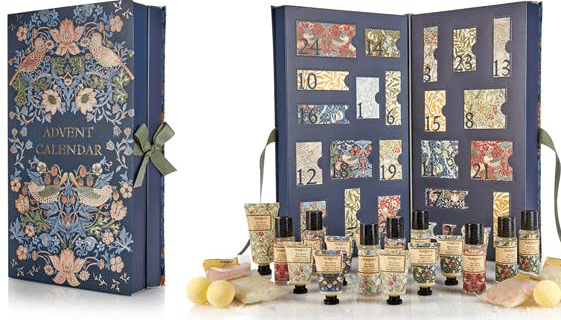 William Morris & Co. Beauty Advent Calendar 2017 Available Now in the USA!