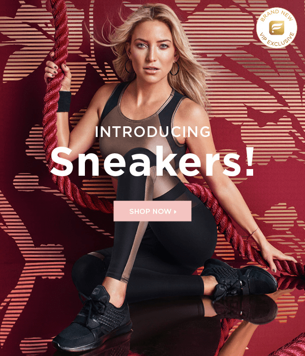New Fabletics Sneakers Collection Available Now + $20 Off First Pair!