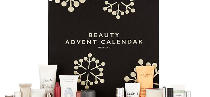 John Lewis Beauty Advent Calendar 2017 Available Now