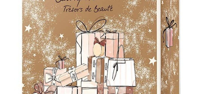 NUXE Beauty Advent Calendar 2017 Available Now in the US!