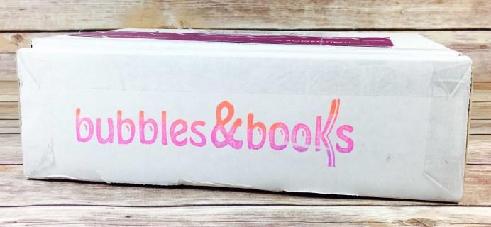 Bubbles & Books Subscription Box Review + Coupon – September 2017
