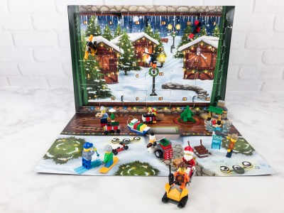 Lego City Advent Calendar 2017 Mini Review