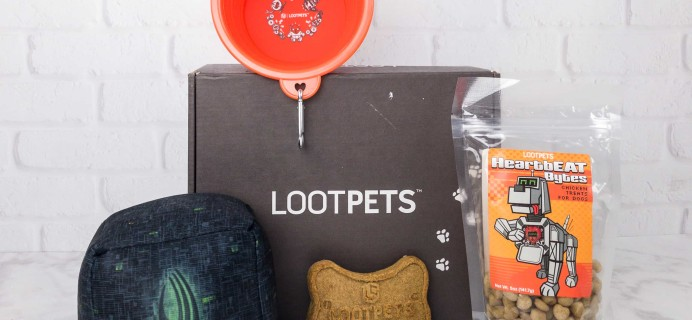 Loot Pets September 2017 Review & Coupon
