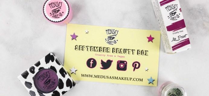 Medusa's Make-Up Beauty Box Subscription Box Review – September 2017