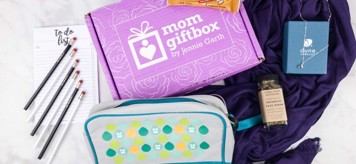 MomGiftBox Subscription Box Review + 50% Off Coupon – September 2017