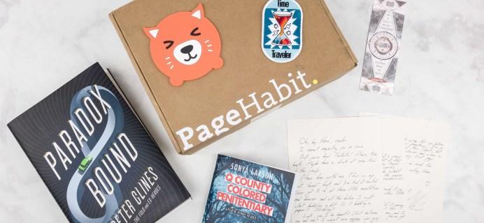 PageHabit September 2017 Subscription Box Review + Coupon – Science Fiction