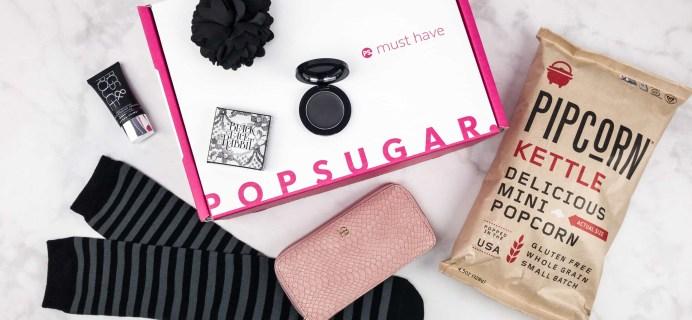 September 2017 Popsugar Must Have Box Giveaway