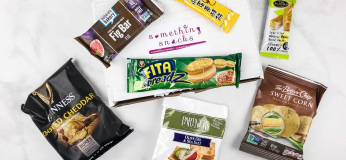 Something Snacks September 2017 Subscription Box Review