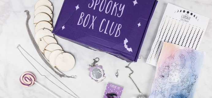 Spooky Box Club September 2017 Subscription Box Review – The Mystic Box