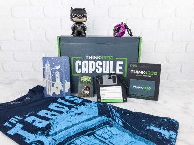 ThinkGeek Capsule August 2017 Subscription Box Review