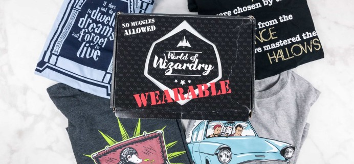 Geek Gear World of Wizardry Wearables Subscription Box Review + Coupon – August 2017