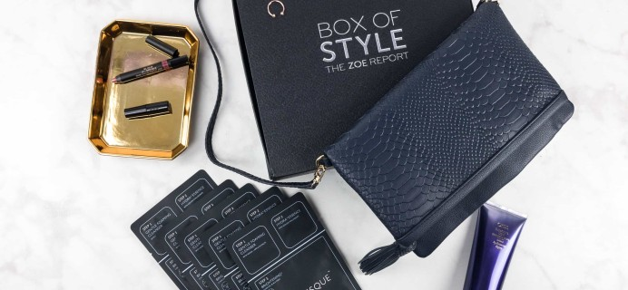Box of Style by Rachel Zoe Fall 2017 Review + Coupon