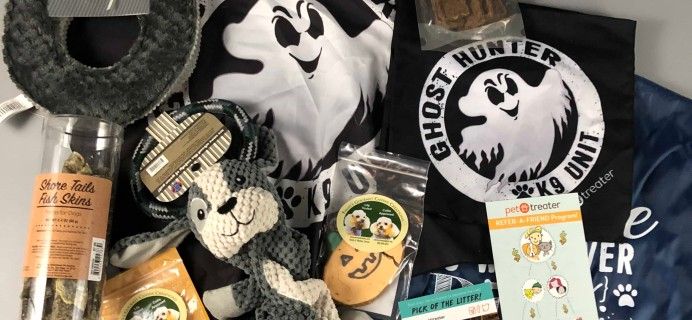 Pet Treater Dog Subscription Box Review + Coupon – October 2017