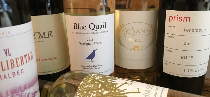 Blue Apron Wine Subscription Box Review – October 2017