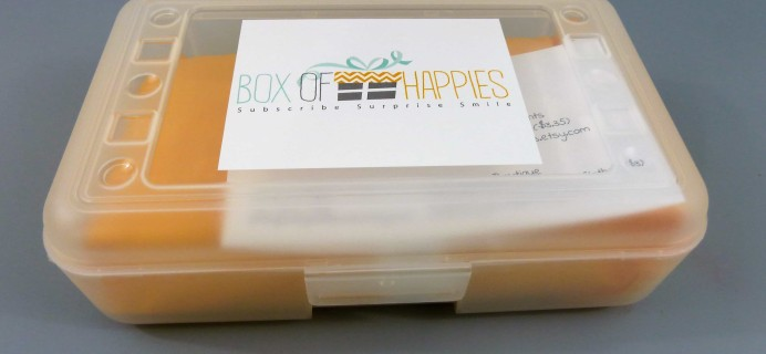 Box of Happies October 2017 Subscription Box Review + Coupon