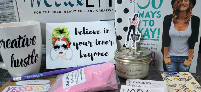 Minx Lit Subscription Box Review + Coupon – September 2017