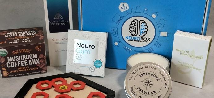 NeuroBox Subscription Box Review + Coupon – October 2017