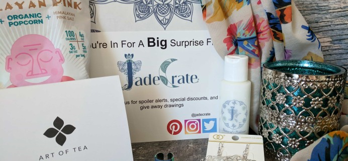 JadeCrate Boho Box Subscription Box Review + Coupon – October 2017