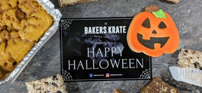 Bakers Krate October 2017 Subscription Box Review + Coupon!
