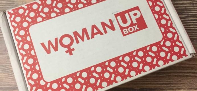 Woman Up Box September 2017 Subscription Box Review + Coupon!