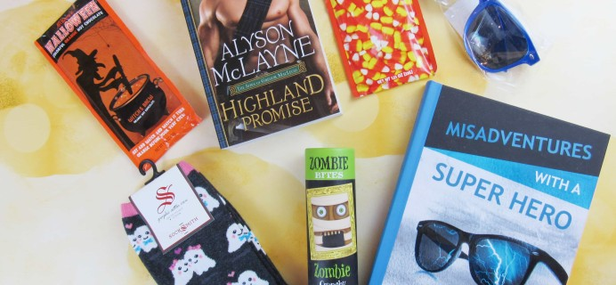 Send Me Swooning October 2017 Subscription Box Review