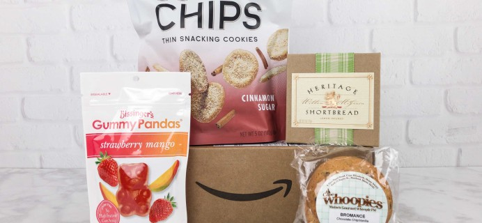 Amazon Prime Surprise Sweets Box October 2017 Review