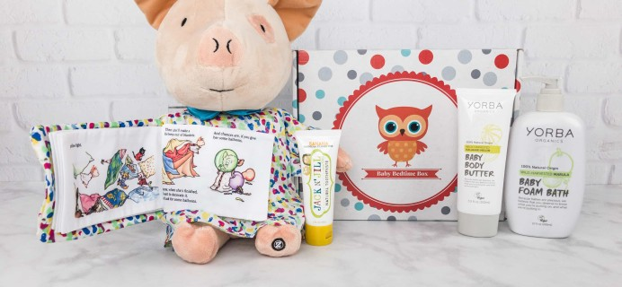 Baby Bedtime Box October 2017 Review + Coupon!