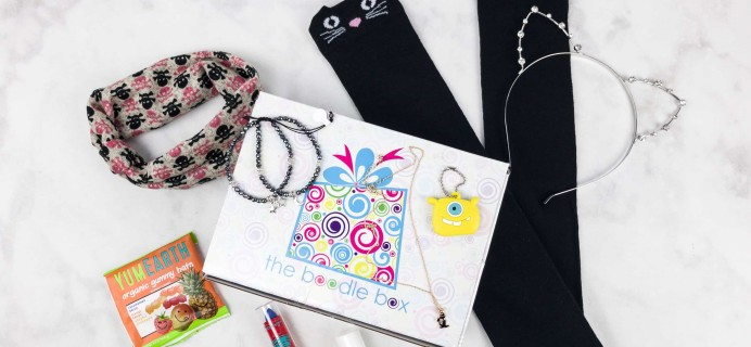 Boodle Box October 2017 Subscription Box Review + Coupon – Boodle 1