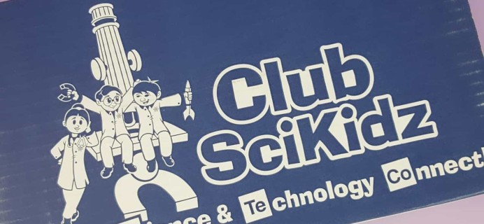 Club Scikidz Labs October 2017 Subscription Box Review + Coupon!